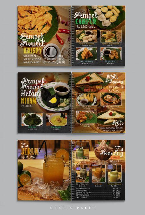 Jasa Desain Menu Restaurant