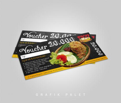 Jasa Desain Voucher