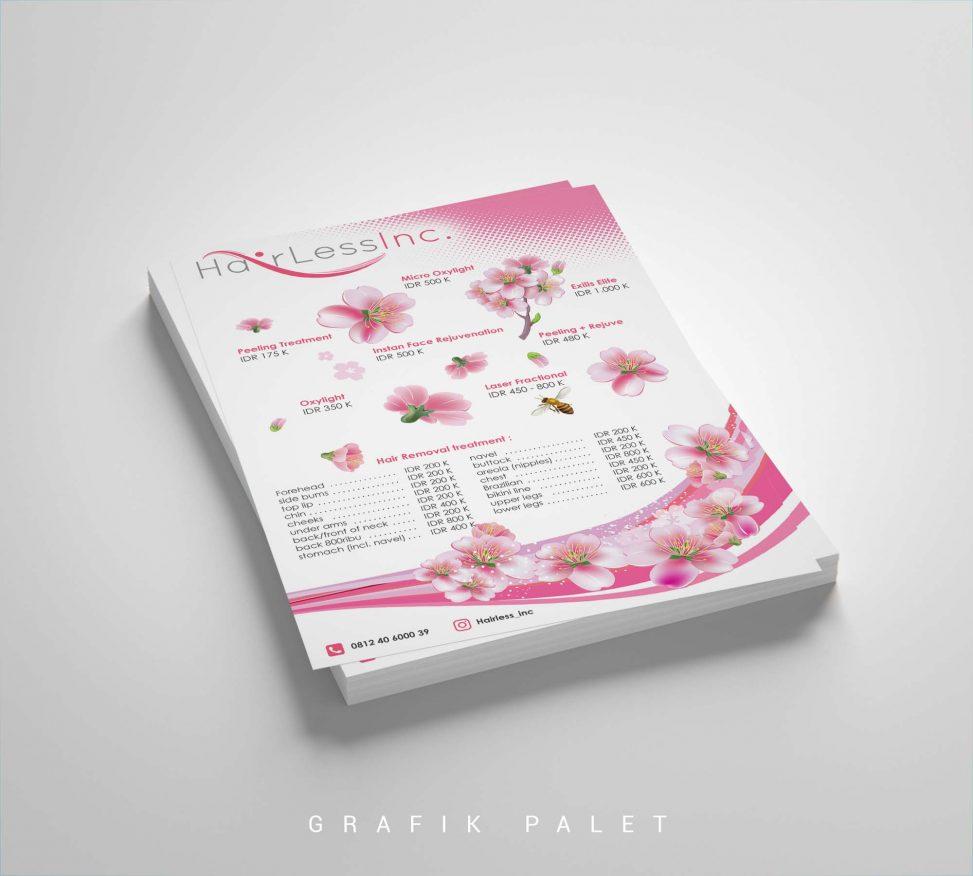 Jasa Desain Brosur Klinik
