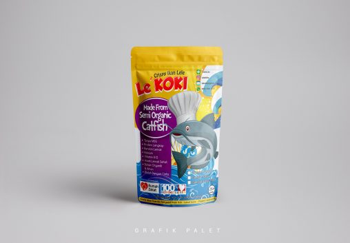 Jasa Desain Sticker Kemasan Produk Makanan