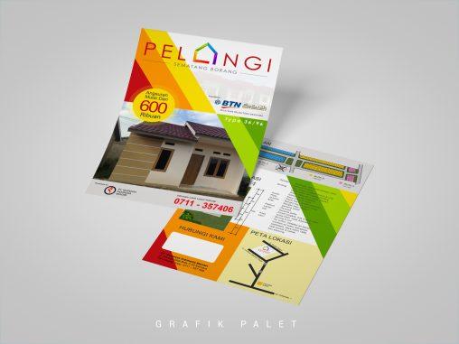 Jasa Desain Brosur Perumahan Palembang